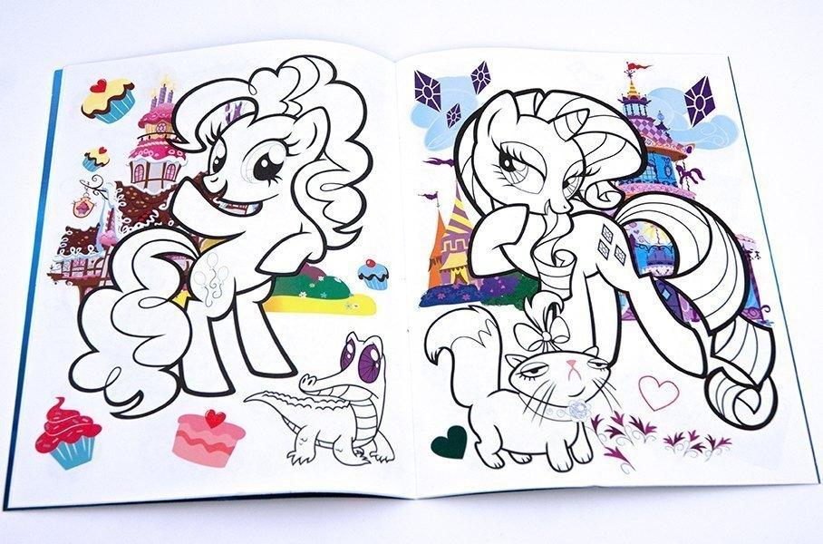 живая раскраска My Little Pony дружба это чудо
