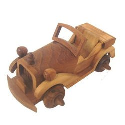 Фото Деревянный автомобиль Кабриолет (ED-15)