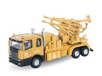"""Фото Масштабная модель Военный транспортер с зенитной установкой """"MILITARY TRANSPORTER"""" 1:48 (34135)"""