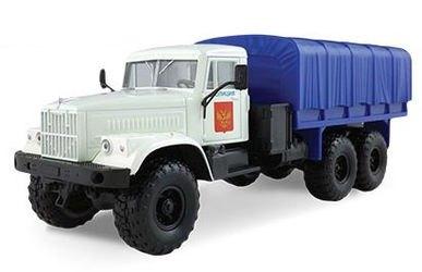 Фото Масштабная модель грузовика KRAZ-255B Полиция 1:43 (65080)