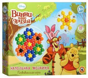 Фото Детская мозаика напольнаяДиснейВинни и его друзья 110 эл, 58 мм (03981)