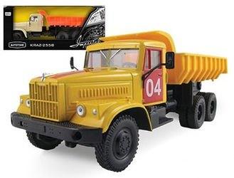 Фото Масштабная модель грузовика КрАЗ-255Б (KRAZ-256B) Аварийная служба 1:43 (65083)