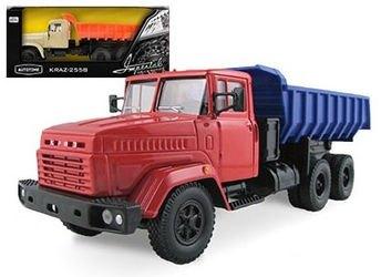 Фото Масштабная модель грузовика KRAZ-6510 Гражданского назначения 1:43 (65089)