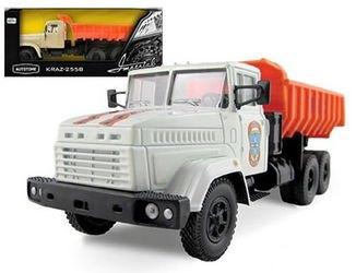 Фото Масштабная модель грузовика KRAZ-6510 МЧС 1:43 (65091)