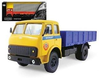 Фото Масштабная модель грузовика МАЗ-5335 (MAZ-5335) Милиция СССР 1:43 (65096)