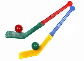 Фото Хоккейный набор 2 Клюшки   2 шара (5049)