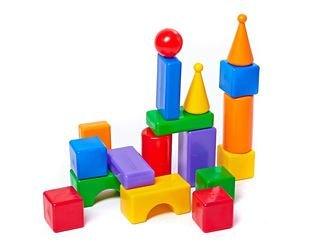 Фото Строительный набор Стена 18 элементов (5001/5244)