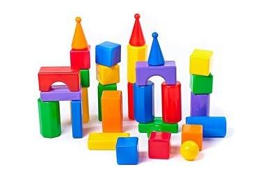 Фото Строительный набор Стена 30 элементов (5002/5247)