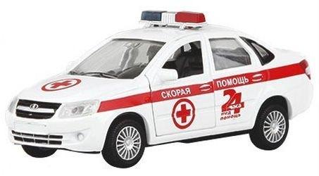 Фото Масштабная модель Лада Гранта Скорая помощь 1:36 (33955W-RUS)