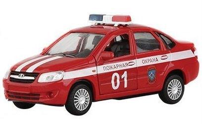 Фото Масштабная модель Лада Гранта Пожарная охрана 1:36 (33953W-RUS)