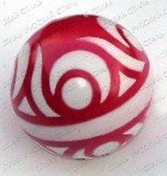Фото Мяч резиновый 125 мм 31 ЛП (с узором)