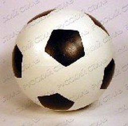Фото Мяч резиновый 200 мм 56ПЭ/56П (футбол)