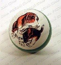 Фото Мяч резиновый 75 мм 103ЛП (с рисунком)