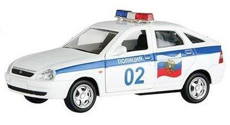 Фото Масштабная модель Лада Приора Полиция 1:36 (33982)
