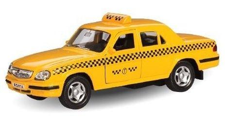 Фото Масштабная модель ГАЗ 31105 Такси 1:43 (4220)