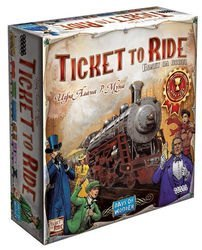"Фото Настольная игра  ""Ticket to Ride: Америка"" (1530)"