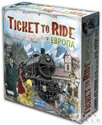 "Фото Настольная игра  ""Ticket to Ride: Европа"" (721502/1032)"