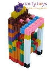 Мозаика напольная Веселая стройка (в пакете, 150 шт) фотография 4