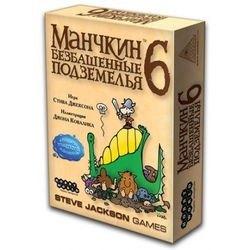 """Фото Настольная игра  """"Манчкин-6 Безбашенные подземелья"""" (1329/2007)"""