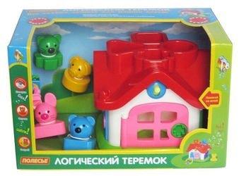 Фото Развивающая игрушка сортер Логический теремок (в коробке)