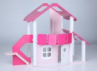Фото Деревянный кукольный домик Lalu