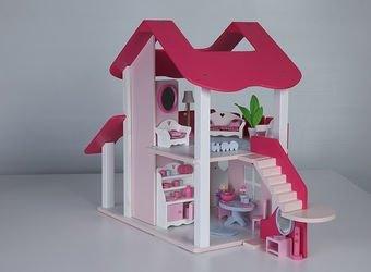 Деревянный кукольный домик Lalu фотография 4