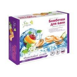 Фото Бомбочки для ванн своими руками Фруктовый салют (С0821/С0702)