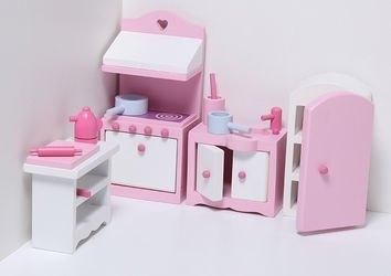 Набор мебели для кукольного домика Кухня  фотография 1