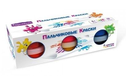 Фото Пальчиковые краски 6 цветов (Т1502)