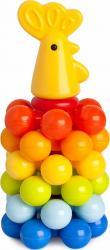 Фото Детская пирамидкас шариками Петушок (9248/7006)