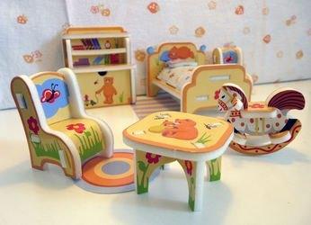 Фото Сборная модель Детская мебель (108)