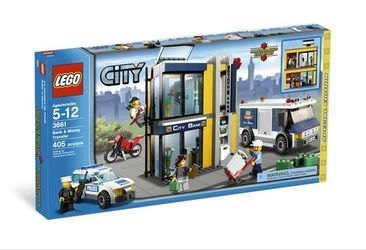 3661 Инкассация в банке (конструктор Lego City)  фотография 1