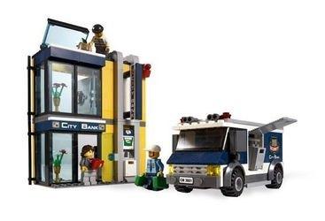 3661 Инкассация в банке (конструктор Lego City)  фотография 3