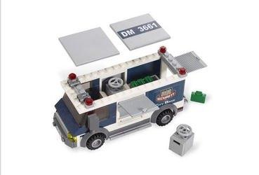 3661 Инкассация в банке (конструктор Lego City)  фотография 5