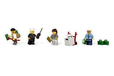 3661 Инкассация в банке (конструктор Lego City)  фотография 7