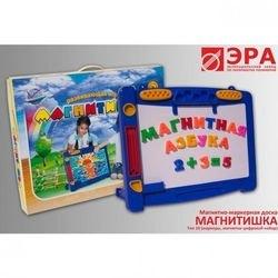 Фото Магнитно маркерная доска с набором букв и цифр Магнитишка тип 10