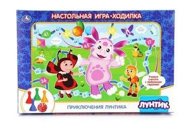 "Фото Настольная игра-ходилка ""Лунтик"""