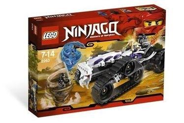 2263 Турбо Шредер (конструктор Lego Ninjago) фотография 2