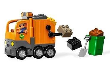 5637 Мусоровоз (конструктор Lego Duplo) фотография 4
