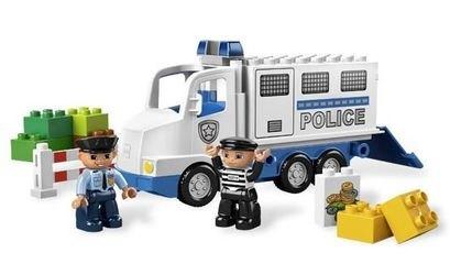 5680 Полицейский грузовик (конструктор Lego Duplo) фотография 1