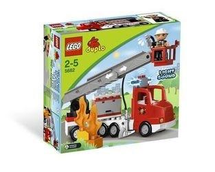 5682 Пожарный грузовик (конструктор Lego Duplo) фотография 2