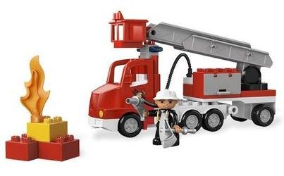 5682 Пожарный грузовик (конструктор Lego Duplo) фотография 3