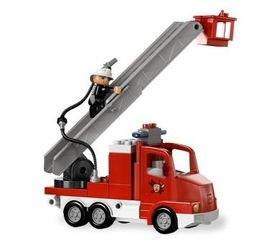 5682 Пожарный грузовик (конструктор Lego Duplo) фотография 5