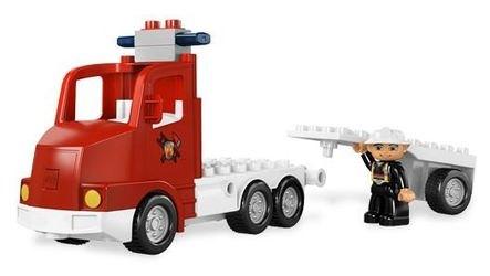 5682 Пожарный грузовик (конструктор Lego Duplo) фотография 7