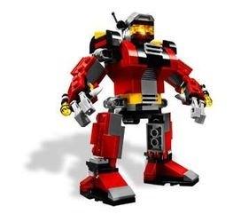 5764 Робот-спасатель (конструктор Lego Creator) фотография 3