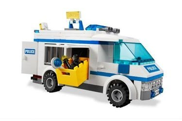 7286 Перевозка заключенных (конструктор Lego City) фотография 6
