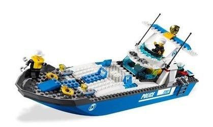 7287 Полицейский катер (конструктор Lego City) фотография 6