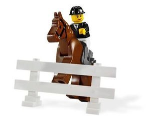 7635 Полноприводной трейлер с лошадью (конструктор Lego City) фотография 5