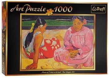 Фото Пазл Таитянские женщины на пляже - П. Гоген, 1000 элементов (10362)