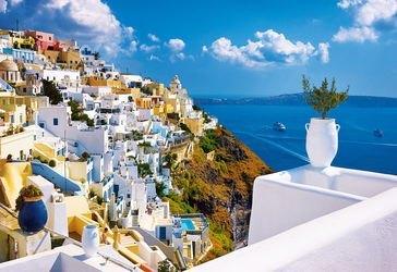 Фото Пазл Санторини, Греция, 1500 элементов (26119)